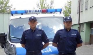policjanci wlaczyl;i o zycie kobiety
