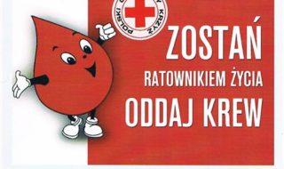 akcja oddawania krwi w um
