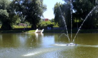 nowa fonntana w parku