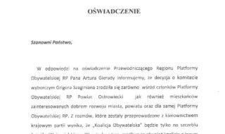 oświadczenie PO 1