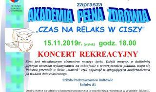 PLAKAT koncert Bałtów do gazety wersja