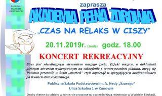 PLAKAT koncert Kunów do gazety wersja